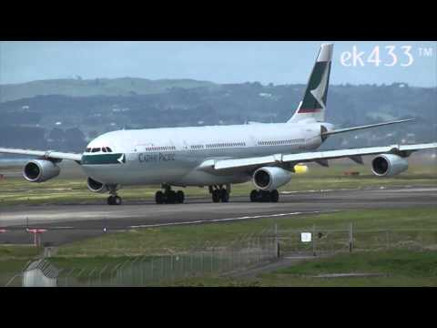 Here we have our second spotting production from Auckland International Airport in New Zealand, we cover all aspects of the airport and include most of the airlines that fly into the airport,...