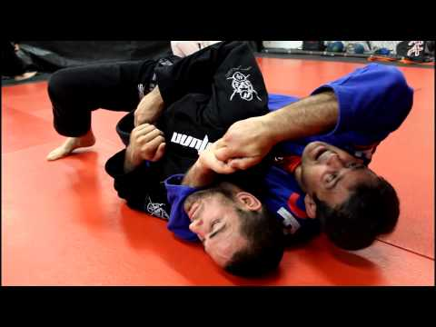 Jiu Jitsu Techniques - Attack Against Turtle Guard / All Four