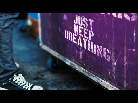 We The Kings - Just Keep Breathing (Official Lyric Video)