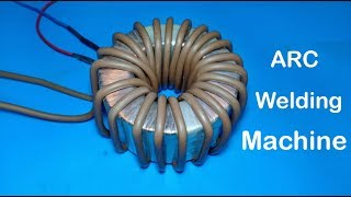 DIY Powerful ARC welding machine from transformer