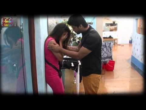 Gauhar Kushal Makes Out In Bathroom Bigg Boss 7 13th December 2013 Day 89 Full Episode video