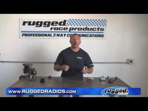 Rugged Radios Mobile Radio Antenna Tuning, Trimming, and Connector Installation