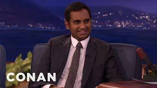 Aziz Ansari's Pork-Fueled Feud WIth His Parents  - CONAN on TBS