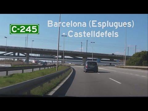 [E] C-245 Barcelona (Esplugues) - Castelldefels