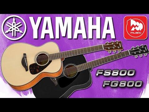 Акустические гитары YAMAHA FS800 и YAMAHA FG800