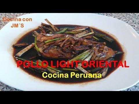 POLLO LIGHT ORIENTAL - RECETAS - COCINA PERUANA