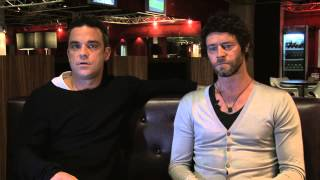 Robbie Williams wanted to 'crush' Gary Barlow