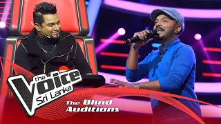 Harsha Buddhika - (Mathakayi Amme) | Blind Auditions | The Voice Sri Lanka