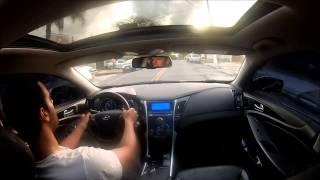 Hyundai Sonata - Acelerando e apresentando.