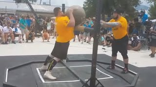 WORLD RECORD 200KG FOR REPS OLEKSII NOVIKOV VS TREY MITCHELL ATLASSTONE LMS FOR A PLACE IN THE FINAL