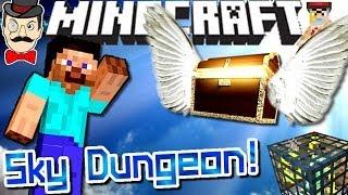 Minecraft SKY DUNGEON Seed! Rare Find!