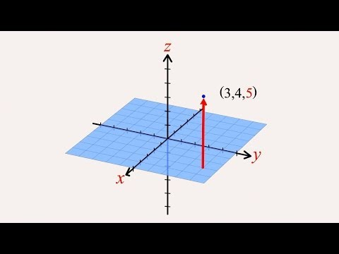 11 - Cartesian Coordinates in Three Dimensions