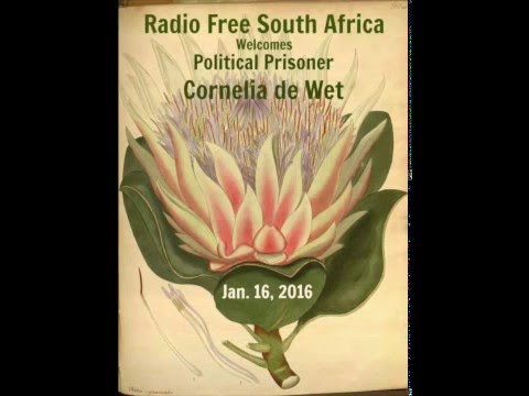 Radio Free South Africa presents Political Prisoner - Cornelia de Wet
