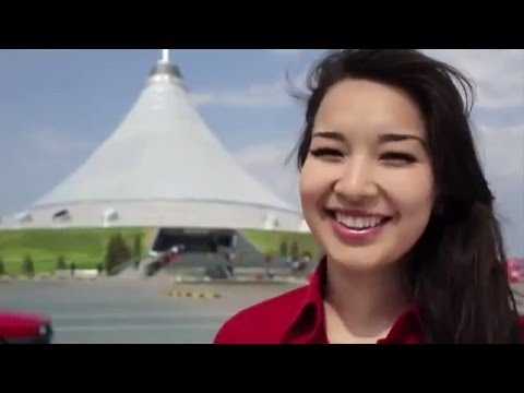 Amazing footage  Astana EXPO 2017