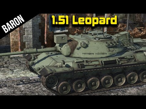 War Thunder 1.51 New Tanks - Leopard A1, Can It Compete!?