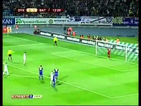 Как бэ обзор матча Динамо Киев 2:2 БАТЭ 16.09.2010