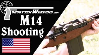 Shooting the M14: Full Auto Really Uncontrollable?