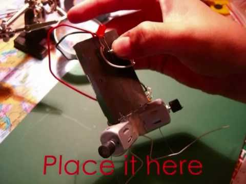 how to make a cockroach robot
