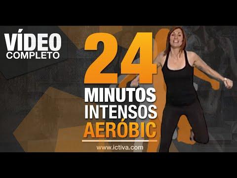 Aerobic - ¡24 Minutos De Ejercicio Aeróbico En Casa! video