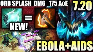 MOST EBOLA HERO of 7.20 UPDATE AoE Splash Dmg EPIC PRO Outworld Devourer Craziest IMBA Dota 2