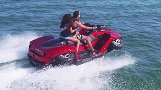 Gibbs Sports - Quadski XL 2-Seater High Speed Amphibious (HSA) Watercraft [1080p]