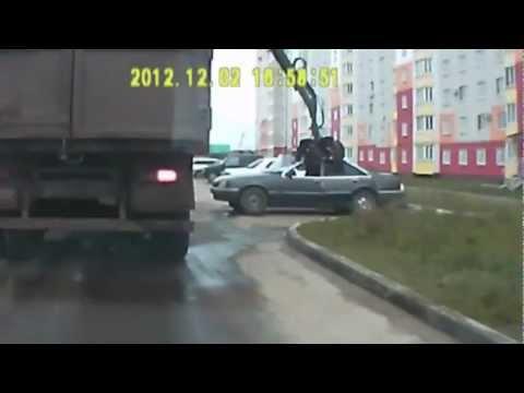 Подборка аварий и ДТП декабрь/2 2012 Car Crash Compilation