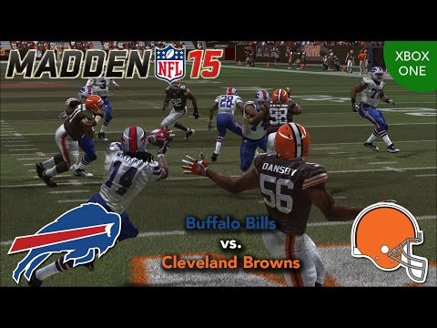 Thumbnail image for ''Madden NFL 15' Gameplay Video: Buffalo Bills vs. Cleveland Browns (Xbox One)'