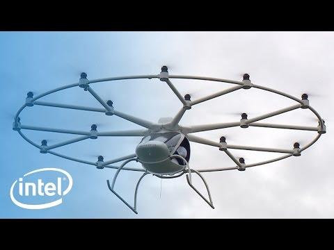 Multicopters Take Flight   Intel