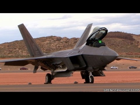F-22 Raptor Engine Start-Up