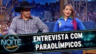 The Noite (22/06/16) - Entrevista com paraolímpicos