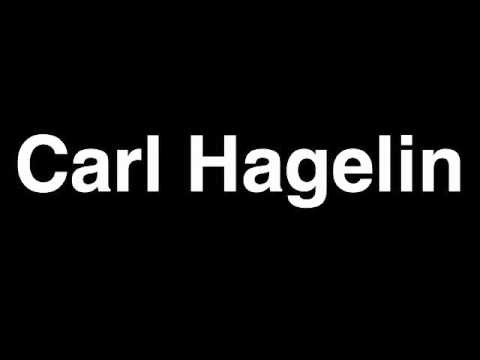 How to Pronounce Carl Hagelin New York Rangers NHL Hockey Player Runforthecube
