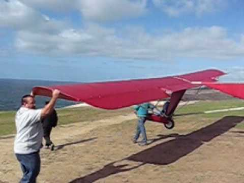 Red Goat Soaring at Torrey Pines