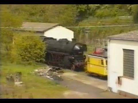Züge Eisenbahn bahn in Linz/Rhein, Königswinter, Bad Honnef 2000 ║Trains in Linz/Rhine 2000