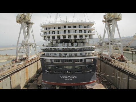 Behind the scenes: Cunard refits Queen Victoria
