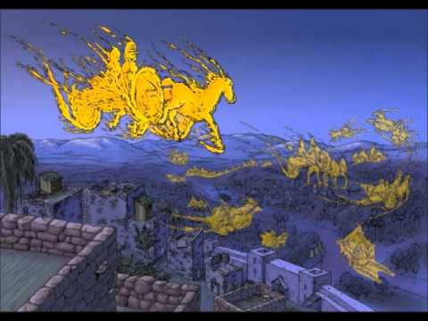 Bible Cartoons: 2 Kings - Chariots Of Fire Animation video