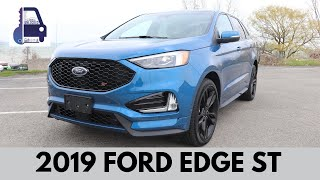 2019 Ford Edge ST In Depth First Look, Review and Test Drive