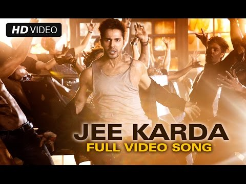 Jee Karda (Official Full Song) | Badlapur | Varun Dhawan & Yami Gautam