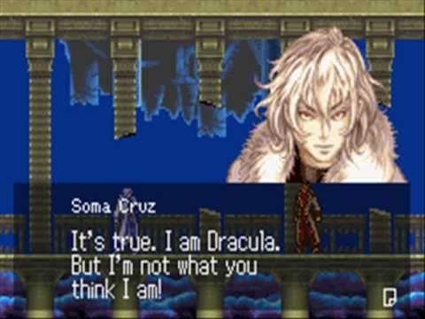 Castlevania Aria Of Sorrow Soma Cruz Level 99 Vs Julius