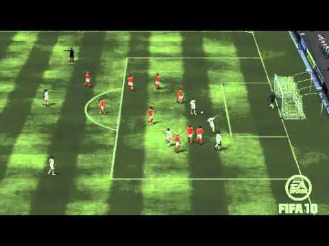 Steve Sidwell Long Range Free Kick Fifa 10 Ultimate Team Los Galacticos