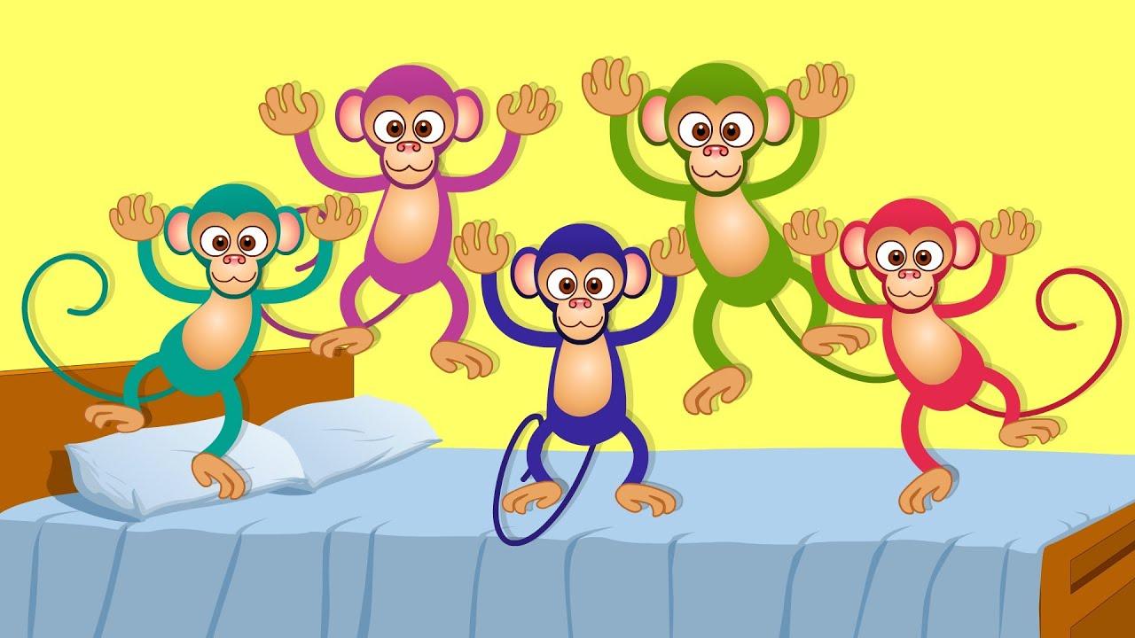 monkey 5 little
