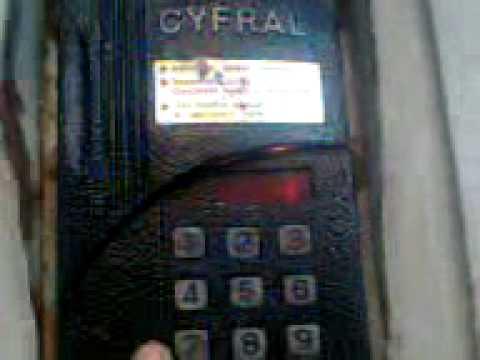 Как взломать домофон Cyfral открыть домофон cyfral ccd 20 взлом до