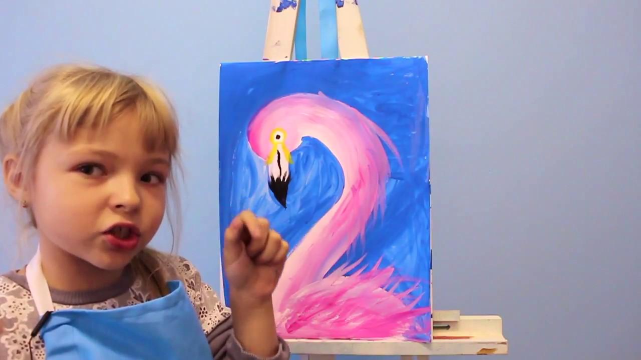 Учу ребенка рисовать видео