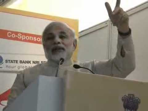 Shri Narendra Modi addressing Pravasi Bharatiya Divas meet at Jaipur