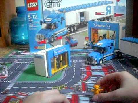 LEGO CITY Toys R Us Truck Review