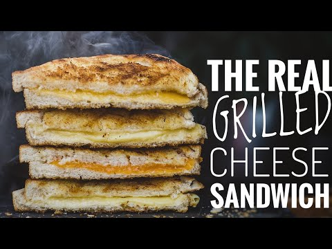 THE REAL GRILLED CHEESE SANDWICH