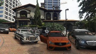 GTA 5 Michaels Mercedes Benz Collection Real Car Mods