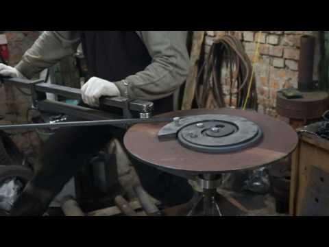 ковка гнутьё станок для гибки хомутов своими руками :: VideoLike