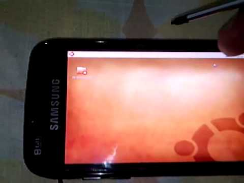Linux Ubuntu on Samsung Omnia II i8000/i8000L