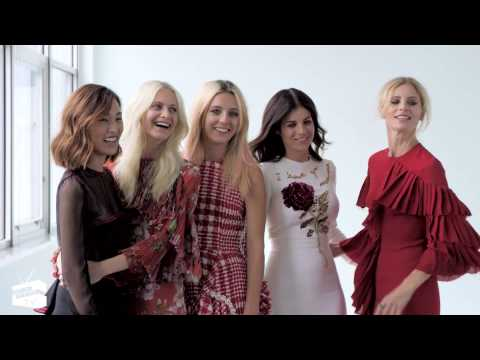 Poppy Delevingne & Friends On Selfies And Fashion Mistakes