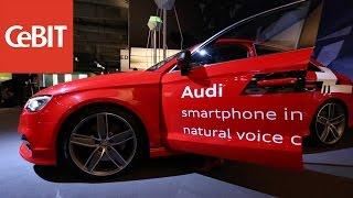 CeBIT 2015: Google zeigt das neue Android Auto im Audi